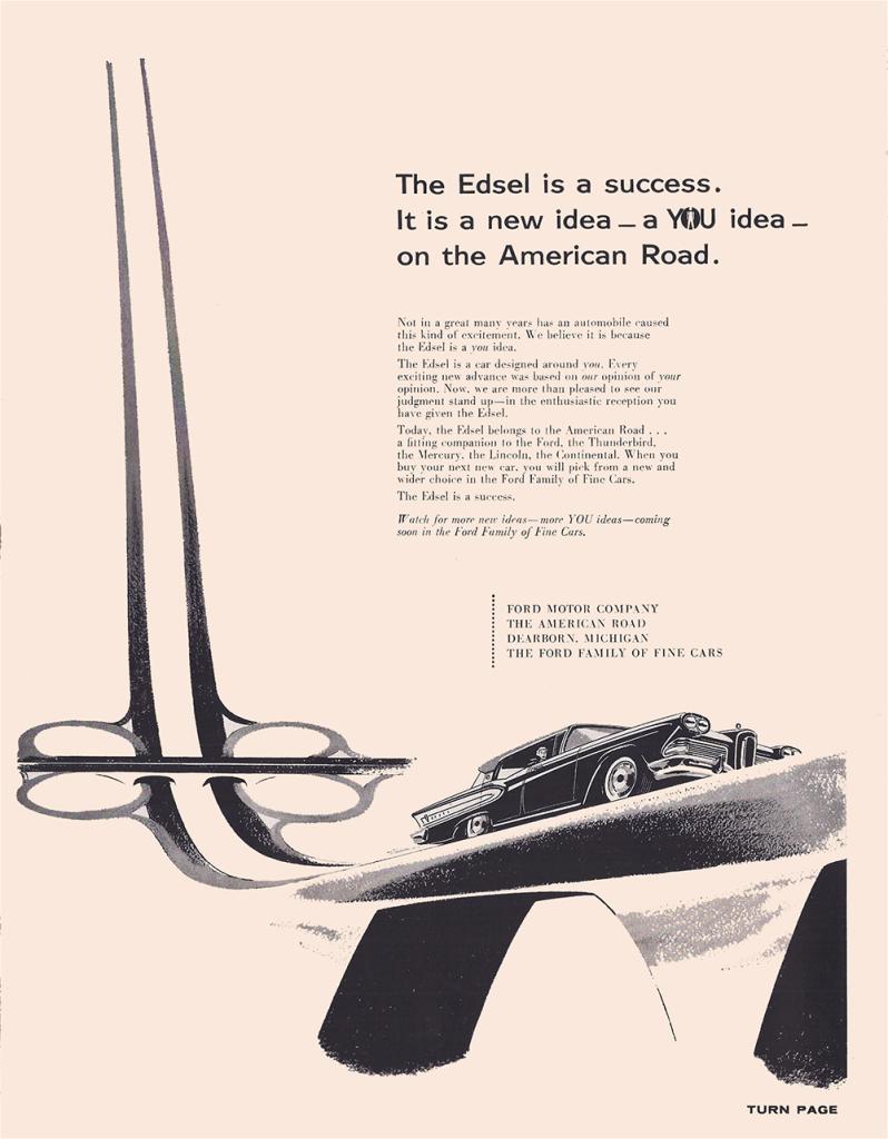 Edsel Ford – No Flop