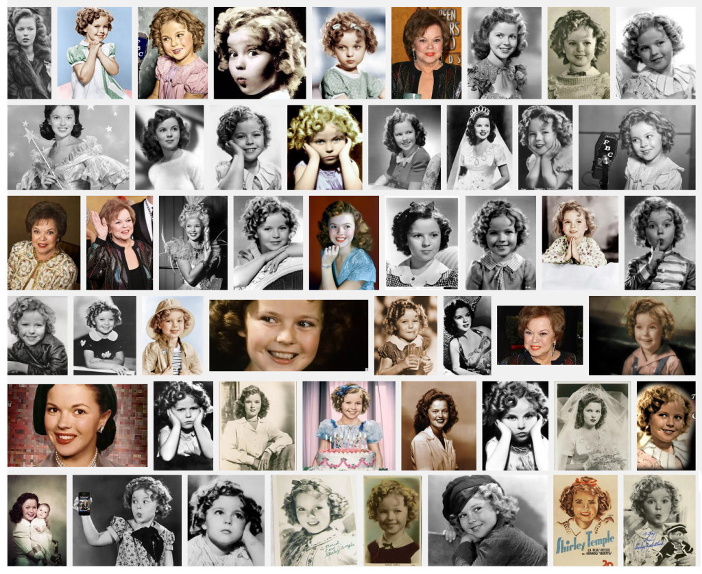 The Loss of Shirley Temple and the Little Girl Dress