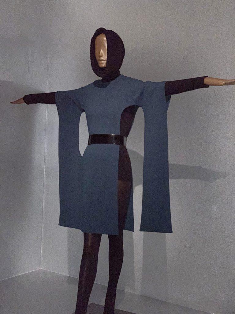1970s Dress & Body Suit