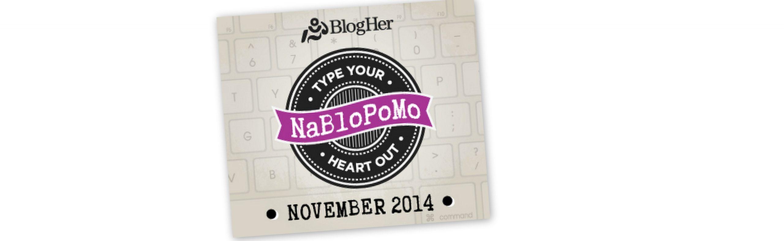 Reflecting on NaBloPoMO 2014