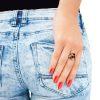 vintage modernist ring