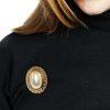Napier pearl brooch