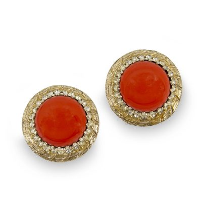Vintage bergere earrings