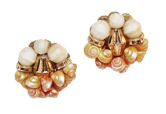 Hobe sea shell earrings