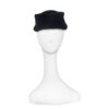 vintage womens black hat