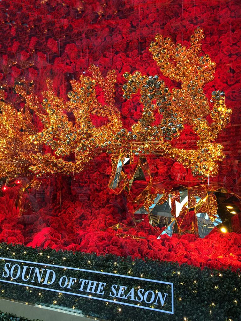 Bloomingdales Christmas window Deer
