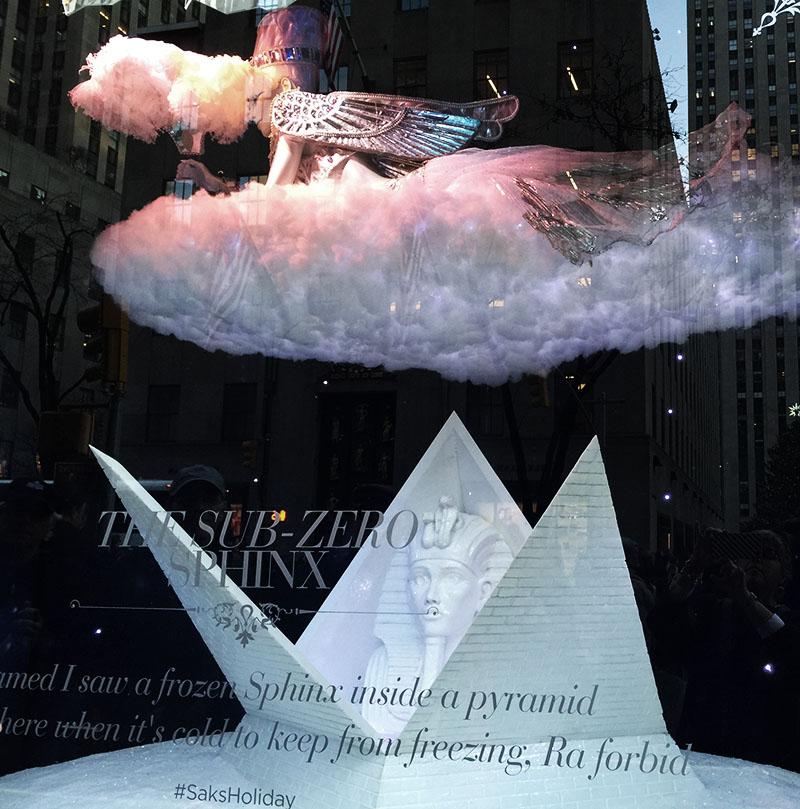 Christmas window New York City
