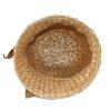 50s straw hat