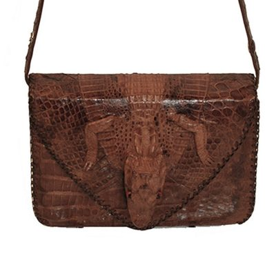 Aligante Alligator Shoulder Bag