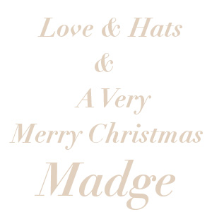Merry Christmas from MadgesHatbox Vintage