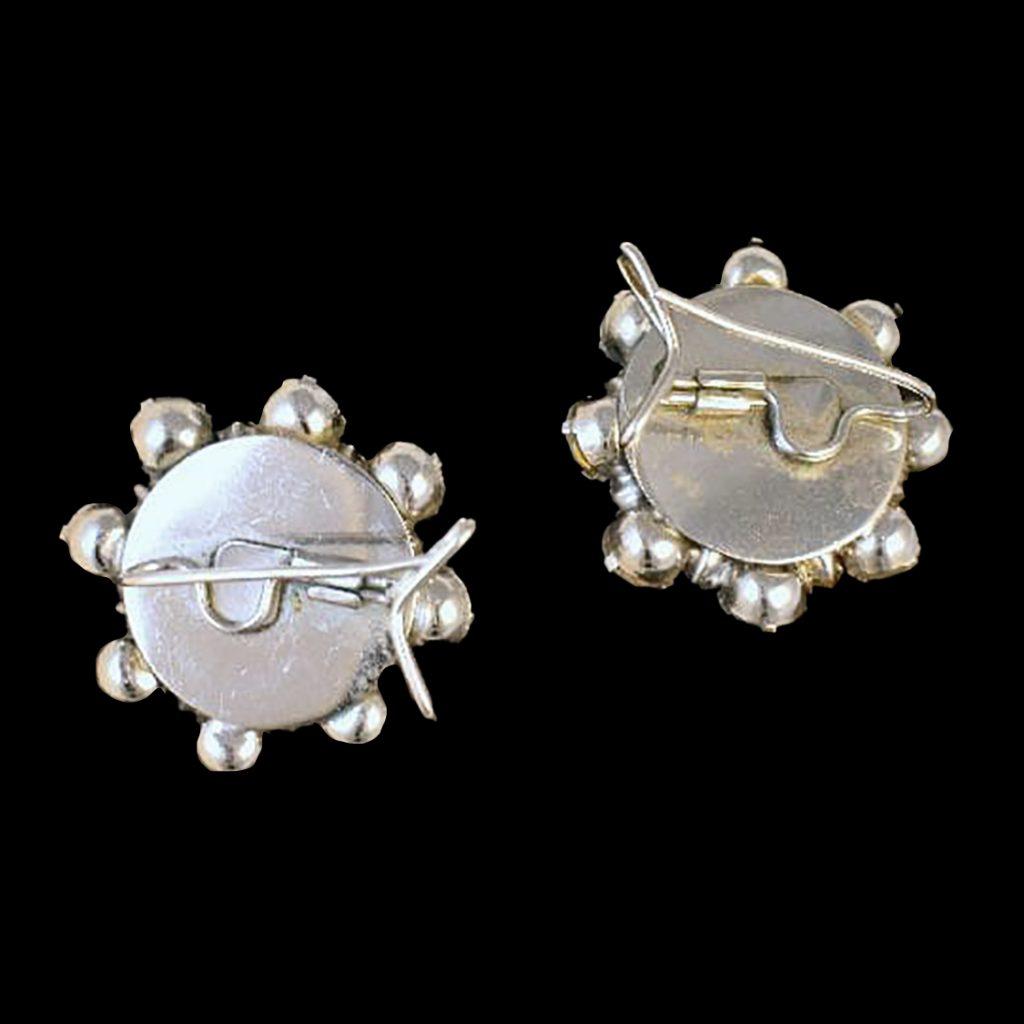 back of wingback earrings