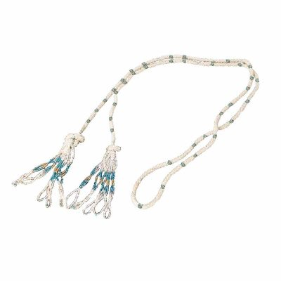 Vintage Glass Bead Tassel Sautoir Necklace, Flapper Style