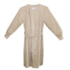 Bill Blass Ultrasuede Coat Dress