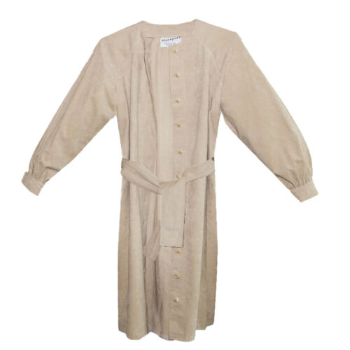 Bill Blass Ultrasuede Coat Dress