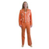 vintage orange pantsuit