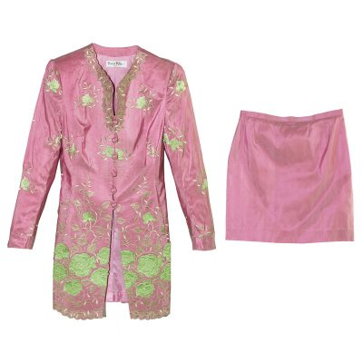 womens silk suit