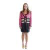 pink knit jacket