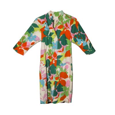 1970s Floral Shift dress