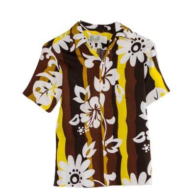 1960s Hawaiian Shirt, Diamond Head Sportswear, Size Extra Small