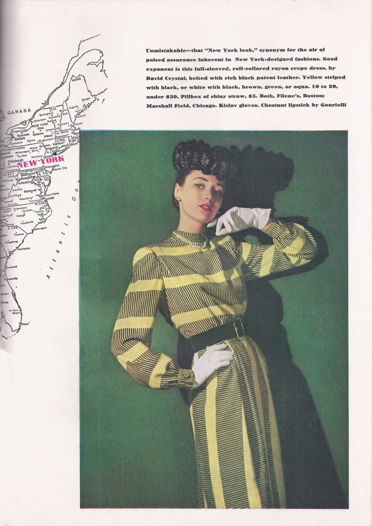 Charm Magazine Fashion 1945