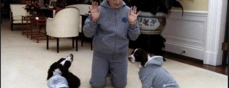 Barbara Bush, Millie, ranger