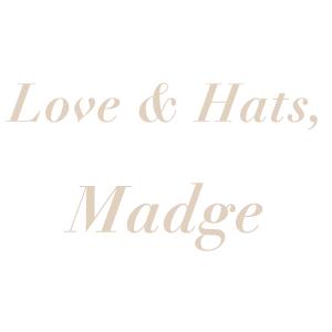 Love & Hats Madge