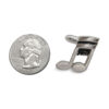 Double note cufflinks