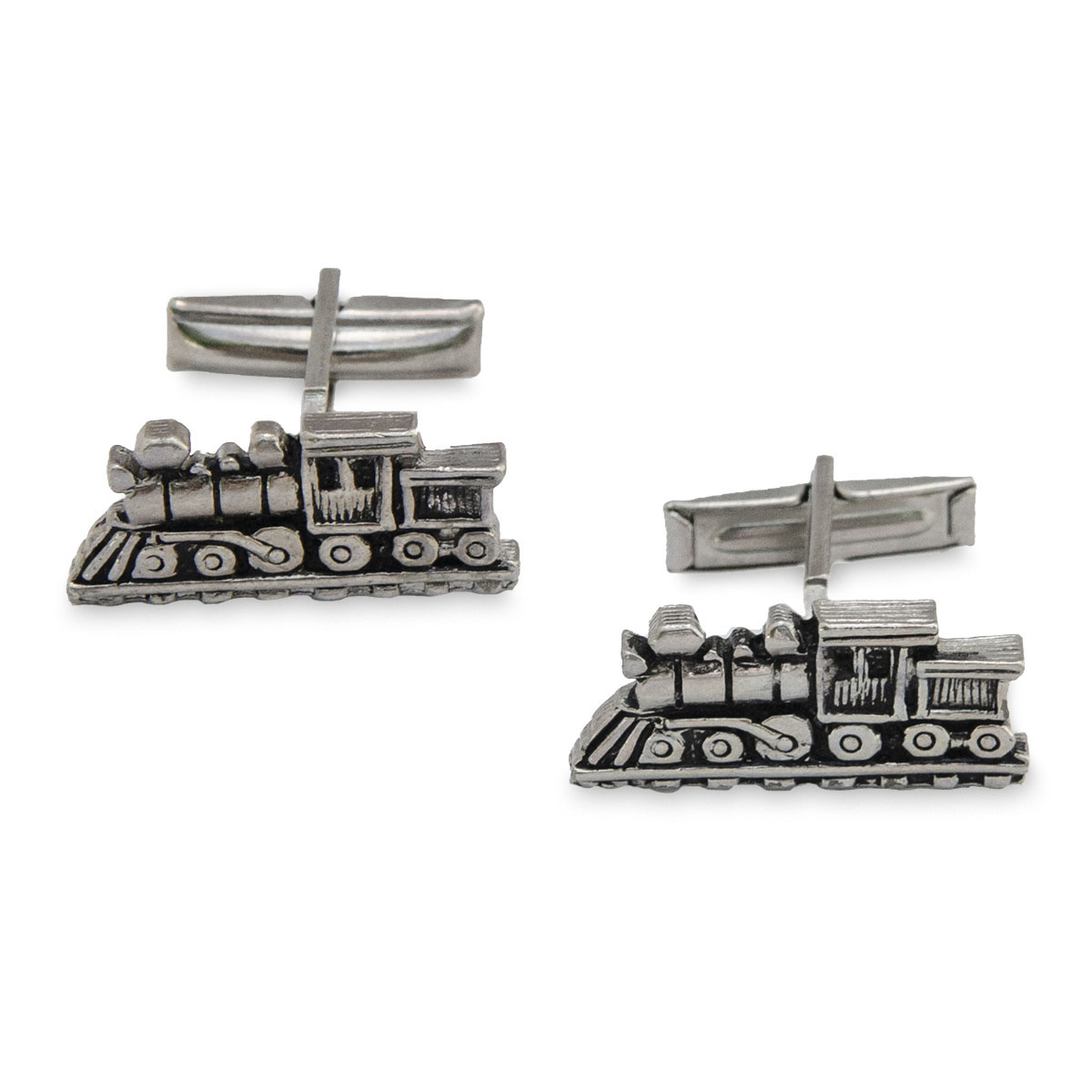railroad cufflinks