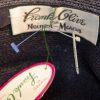 Frank olive hat label