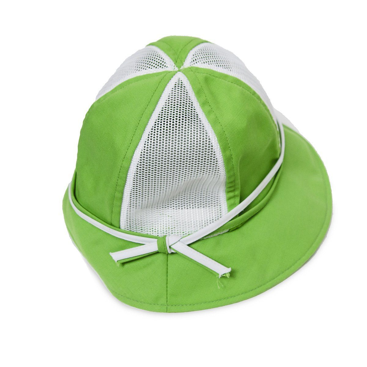 Vintage 70s Bright Green Golf – Tennis Hat by Happy Cappers