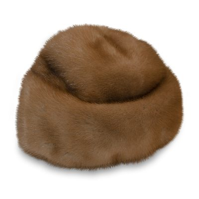 mink winter hat