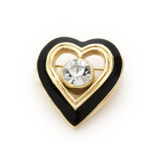 Vintage Christian Dior Heart brooch