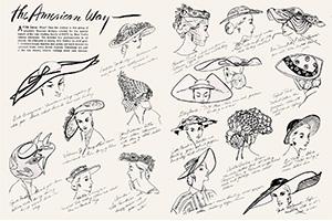 Vintage Hats 1950s