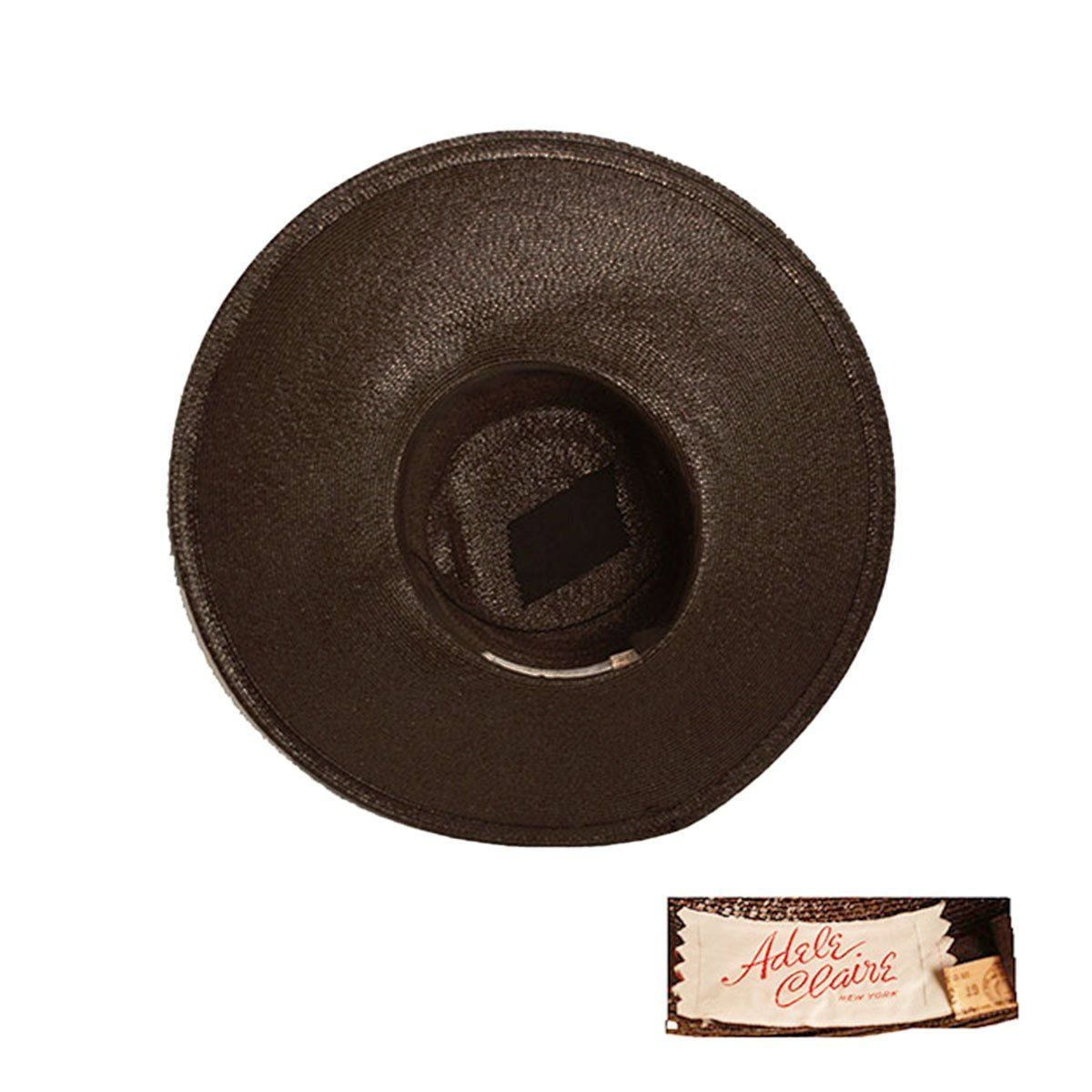 adele claire hat label