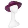 purple beach hat