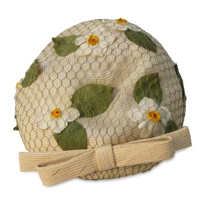 Vintage 60s, Lilly Dache Hat, Tan Bubble Turban