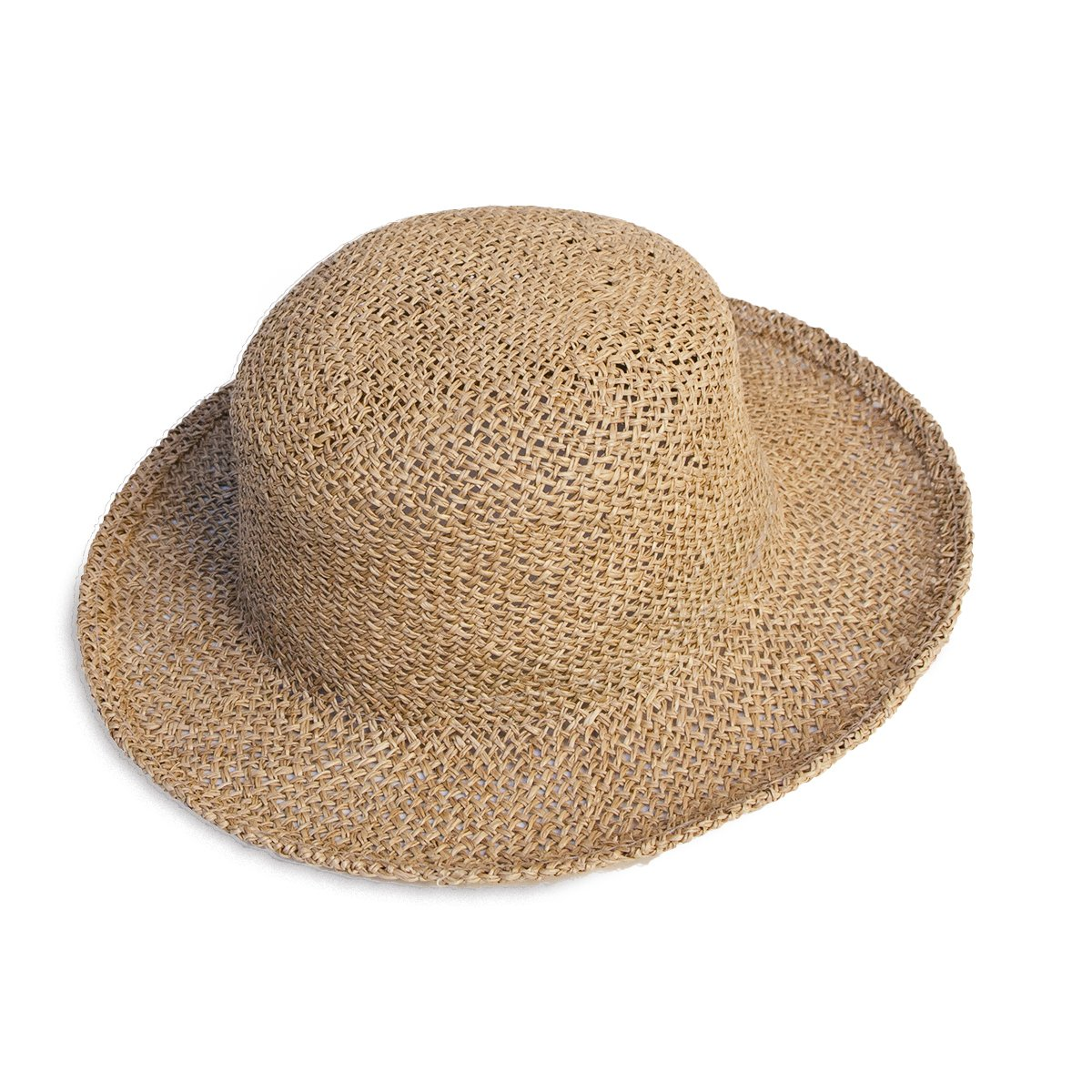 Women's Natural Straw Sun Hat