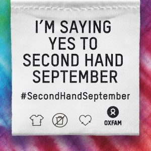 Secondhand september sustainable fashion