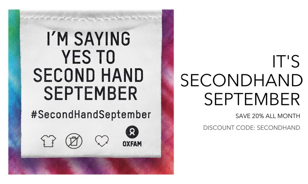 Oxfam Secondhand September