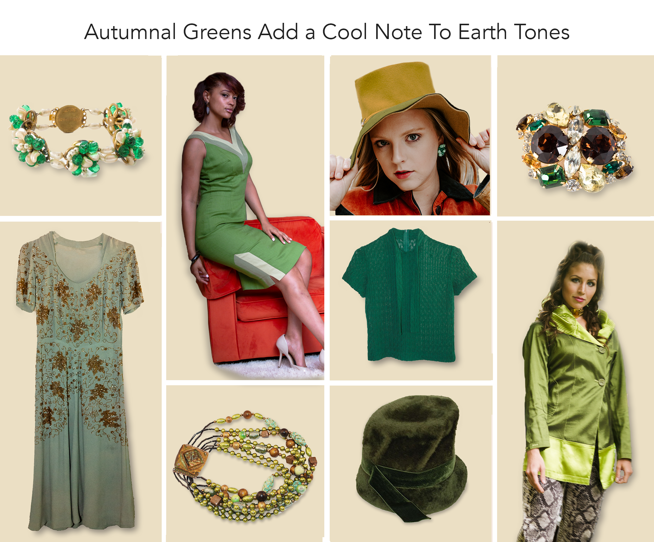 Autumnal Greens Trending Now