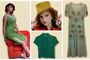 Autumn green fashion trend