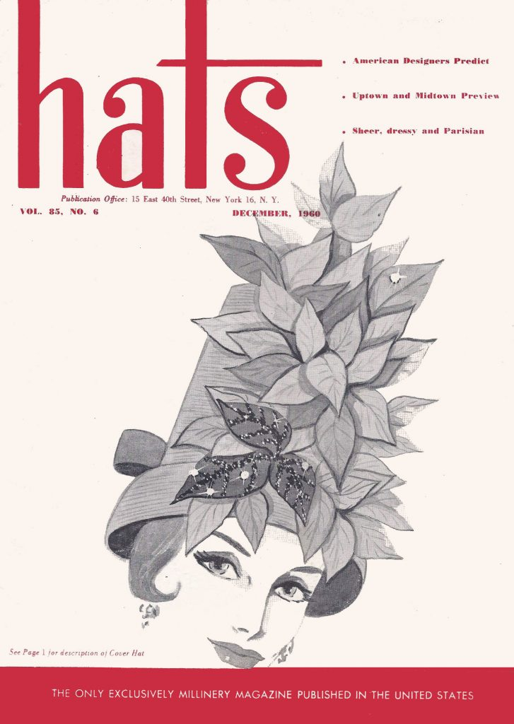 Hats Magazine Cover Hat by Don Marshall
