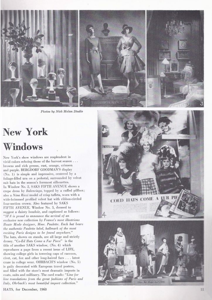 1960s store window displays