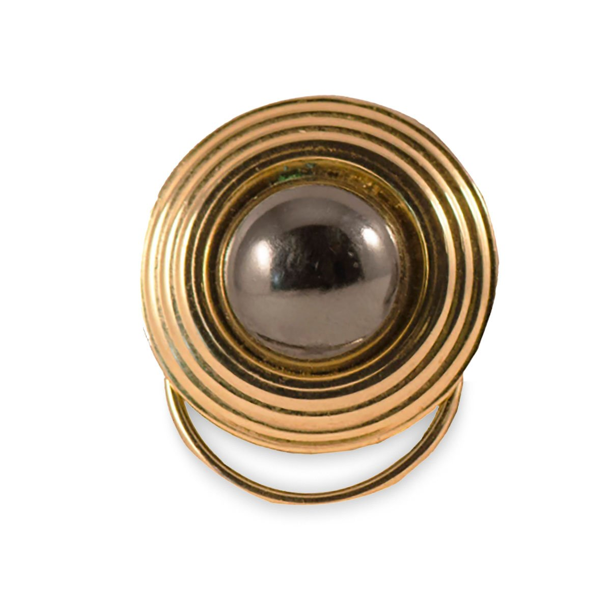 Mid Century Two-Tone Dress Clip