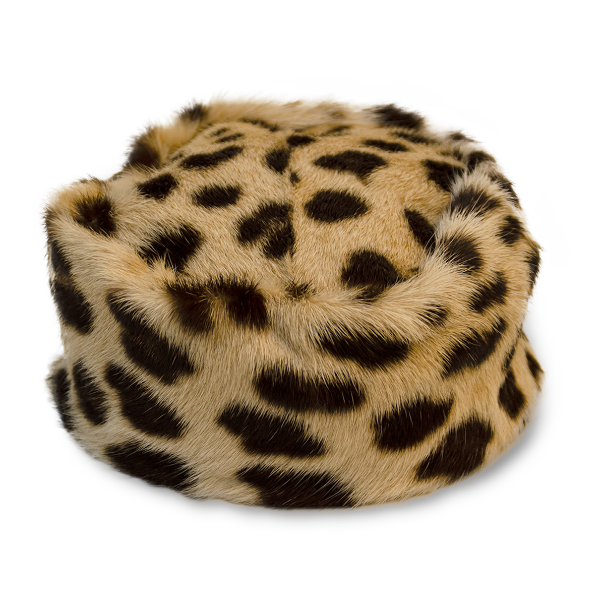 Bonta Leopard PIllbox Hat