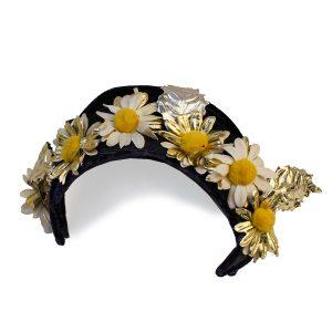 vintage Spring floral hat