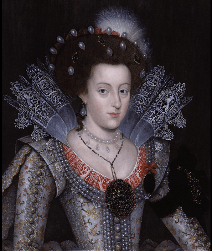 Queen Elizabeth I pearl earrings