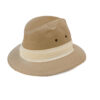 Adams Fedora Canvas hat