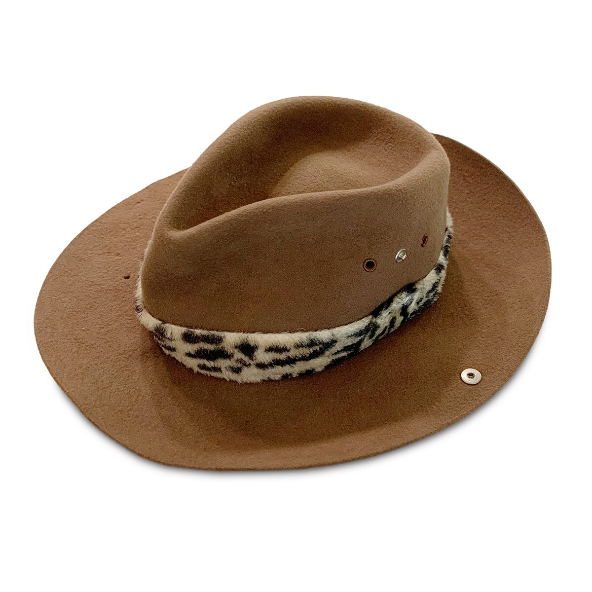 Brown Nelso Safari Hat