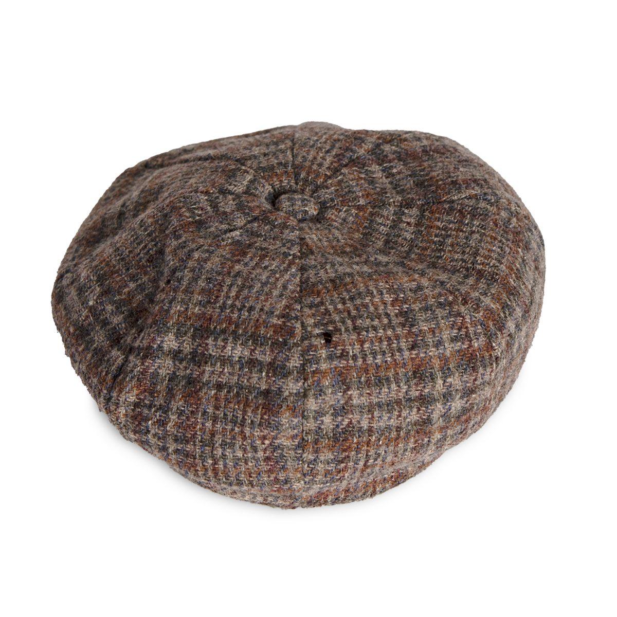 vintage plaid cap